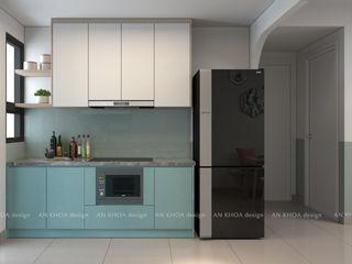 Topaz Twins 77m2 Công ty TNHH Tư vấn thiết kế xây dựng An Khoa Nhà gia đình Blue