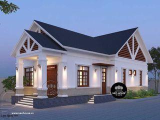 9 mẫu thiết kế nhà cấp 4 3 phòng ngủ hiện đại đẹp 2020 NEOHouse