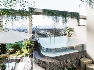 Neo Classic Interior Design Pool