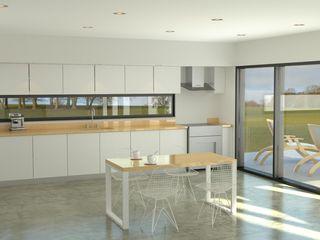Proyecto Casa en Pilar Estudioviaarqs Cocinas industriales