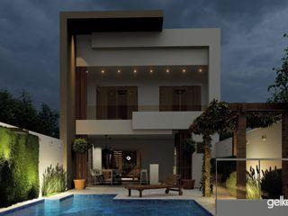 Projeto de casa estreita Gelker Ribeiro Arquitetura | Arquiteto Rio de Janeiro