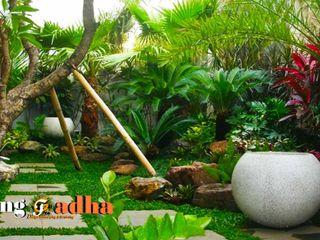 Tukang Taman Surabaya Tianggadha Art Tukang Taman Surabaya - Tianggadha-art Halaman depan Batu Green