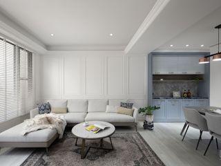 禾廊室內設計 Ruang Keluarga Klasik