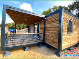 Mobil Villam Minimalistische Häuser Holz Holznachbildung