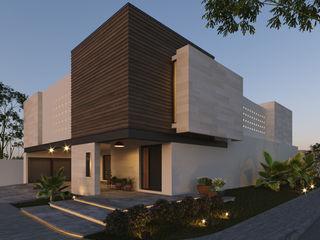 fc3arquitectura Einfamilienhaus Beton Weiß