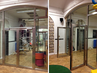 Fire rated screens Ion Glass Modern style doors Glass