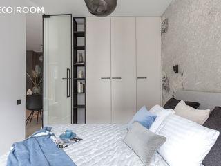 Pracownia Architektury Wnętrz Decoroom Chambre moderne Bleu