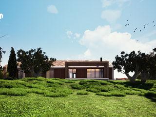 Casa MC nelle campagne Toscane MODOM srl Case moderne