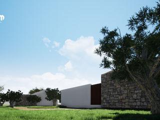 Casa GG nelle colline Siciliane MODOM srl Case moderne