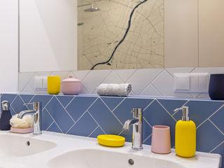 IDEALS . Marta Jaślan Interiors Modern style bathrooms