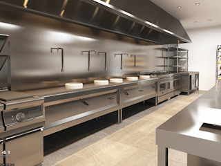 Kitchen Restaurant_Medan (Mr. Joko) VECTOR41 KitchenCabinets & shelves