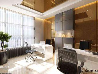 Interior Office Room_Medan (Mr. Aldes) VECTOR41 Kantor & Toko Modern