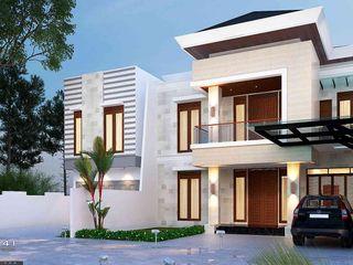 Exterior House_Medan (Mr. Andi) VECTOR41 Rumah keluarga besar