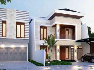 Exterior House_Medan (Mr. Andi) VECTOR41 Rumah prefabrikasi