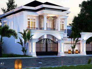 Exterior House_Aceh (Mr. Azhari) VECTOR41 Rumah tinggal