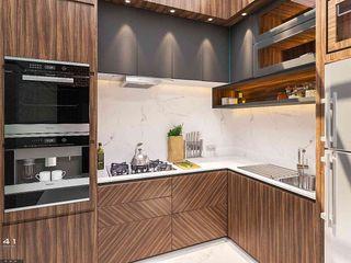 Interior House_Aceh (Mr. Badrun) VECTOR41 KitchenCabinets & shelves