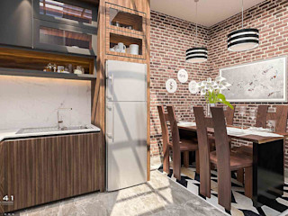 Interior House_Aceh (Mr. Badrun) VECTOR41 Dining roomAccessories & decoration