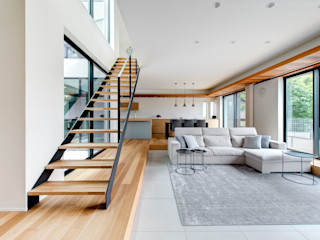 TERAJIMA ARCHITECTS/テラジマアーキテクツ Salas de estar modernas
