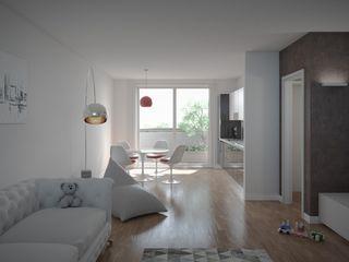 Legnocamuna Case Salon moderne