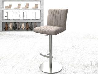 Für die Lounge zuhause - Unsere Barstühle DELIFE EsszimmerStühle und Bänke Textil Braun