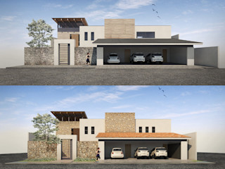 Cervantes Bueno arquitectura Single family home Wood Wood effect