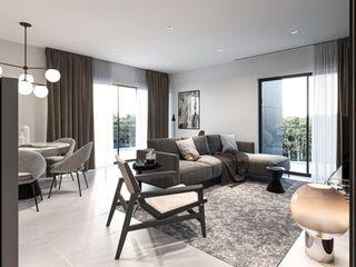 Propriété Générale International Real Estate 客廳沙發與扶手椅