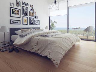Propriété Générale International Real Estate 臥室床與床頭櫃