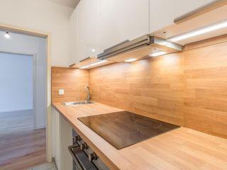 Musterwohnung in Mitteldeutschland Immobilienfotografie & Architekturfotografie André Henschke Minimalistische Küchen
