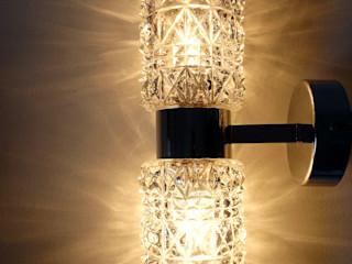 Maisondora Vintage Living BadkamerVerlichting Glas Transparant