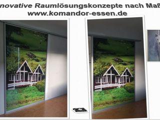 Einbauschränke nach Maß -Made in Essen NRW Komandor Essen Schiebetüren Studio Jarosch Siegfried Moderne Arbeitszimmer