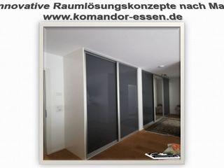 Einbauschränke nach Maß -Made in Essen NRW Komandor Essen Schiebetüren Studio Jarosch Siegfried Moderne Ankleidezimmer