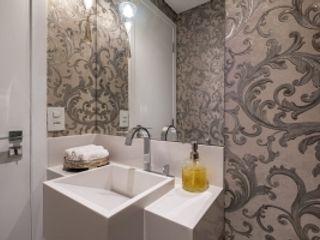 Spazhio Croce Interiores Salle de bainLavabos Céramique Blanc