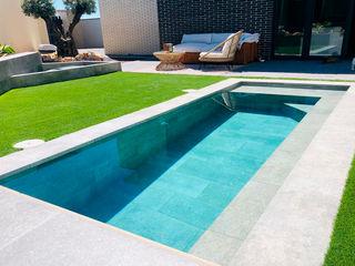 ROSA GRES Garden Pool Ceramic Grey