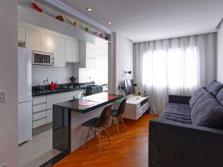 Raphael Civille Arquitetura Scandinavian style dining room