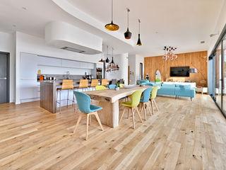 Brunel Architecture Modern dining room