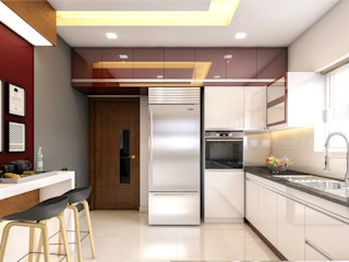 Premdas Krishna Moderne Küchen Holz Holznachbildung