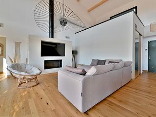 Villa Nages et Solorgues Brunel Architecture Salon méditerranéen
