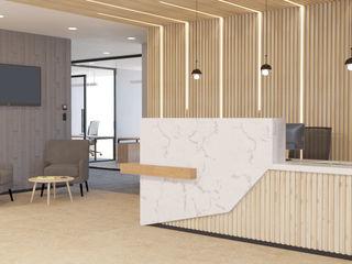 4 + Arquitectura Lojas & Imóveis comerciais modernos Madeira Efeito de madeira