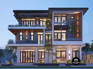 Mẫu thiết kế biệt thự đẹp 3 tầng độc đáo 10x15m tại HCM NEOHouse