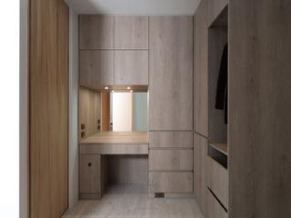 禾光室內裝修設計 ─ Her Guang Design Industrial style dressing room Wood effect