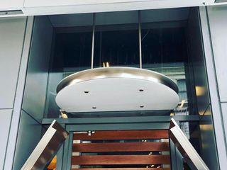 NUTELLA CAFE NYC CASATI INOX Ingresso, Corridoio & Scale in stile moderno