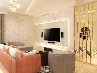 The Workroom Scandinavian style living room