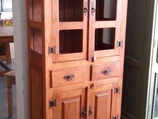 Armários de Madeira de Demolição para a cozinha Barrocarte CozinhaArmários e estantes Madeira Efeito de madeira