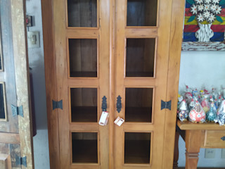 Armários de Madeira de Demolição para a cozinha Barrocarte CozinhaArmários e estantes Madeira maciça Efeito de madeira