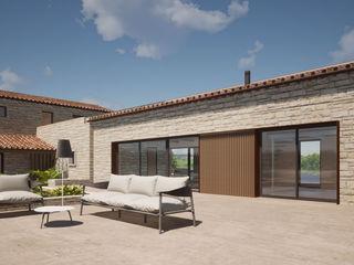 GIAN MARCO CANNAVICCI ARCHITETTO Modern Pool