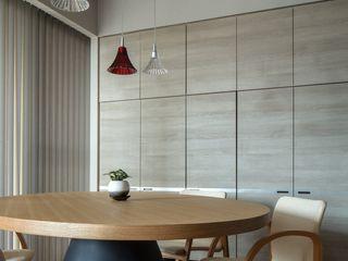 有限会社アルキプラス建築事務所 Minimalist dining room