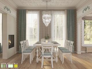 Мастерская интерьера Юлии Шевелевой Classic style dining room