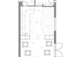 """""""By The Way""""_ pinseria, vineria e altro; antonio felicetti architettura & interior design Sala da pranzo moderna"""