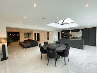 Pinner Loft Conversion & Full House Refurb The Market Design & Build Dining roomChairs & benches
