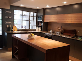 MOBILFE Built-in kitchens Engineered Wood Grey